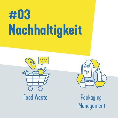 Open Innovation Call 03: Nachhaltigkeit: Food Waste, Packaging Management